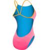 TYR Solid Cutoutfit Bathing Suit Women fluo pink/orange